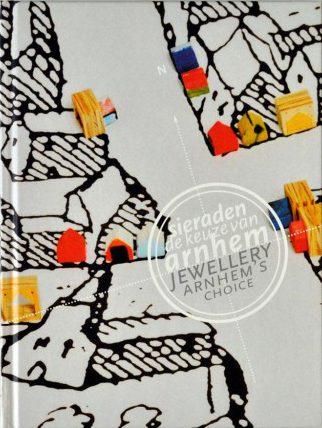 Omslag Sieraden, de keuze van Arnhem, drukwerk