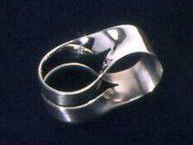 Lous Martin, ring, 1968. Collectie Design Museum Den Bosch, zilver