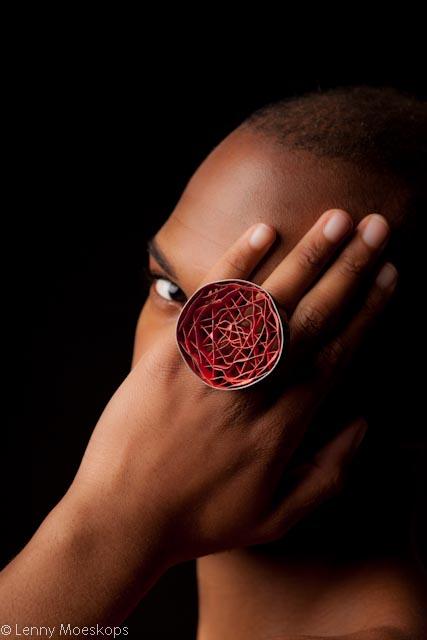 Daniel Kruger, ring, foto Lenny Moeskops