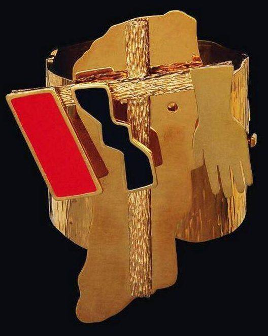 Mimmo Paladino, armband, ontwerp 1982, uitvoering 2004. Foto met dank aan SMS©