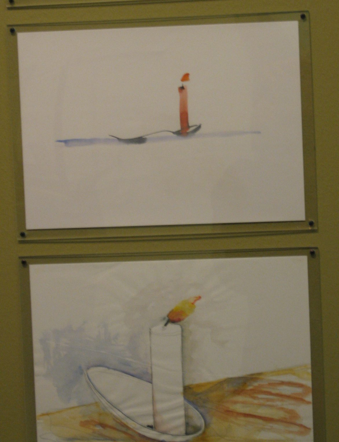 Onno Boekhoudt, tekening. Werk in uitvoering, CODA, 2010, papier, verf