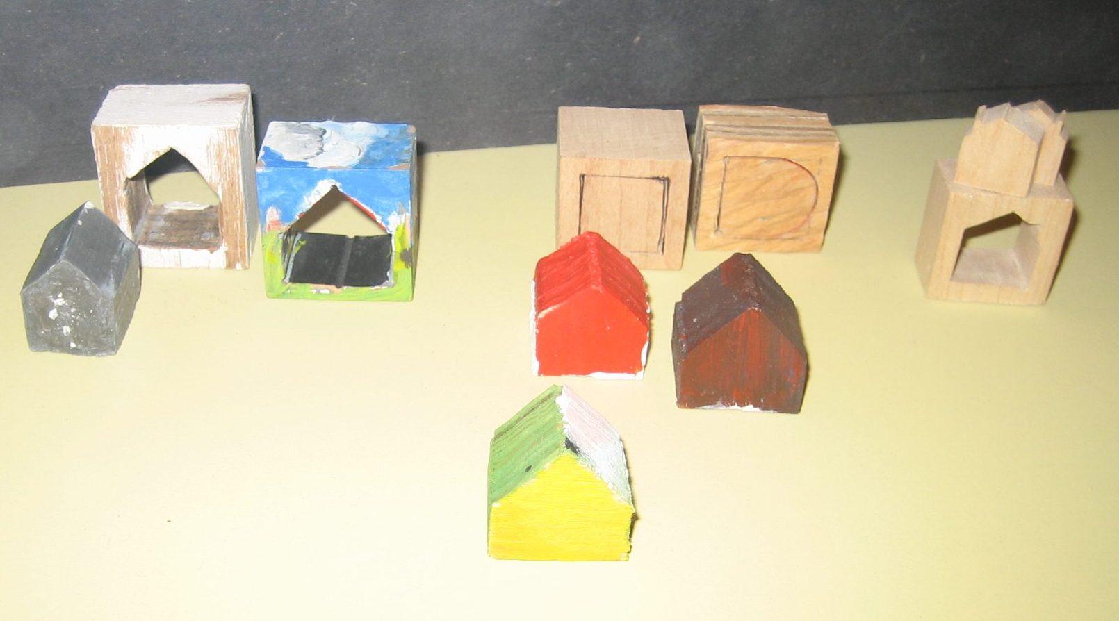 Werk in uitvoering, CODA, 2010, hout, verf, ringen, tentoonstelling