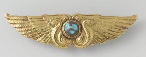 Frans Zwollo sr, broche, circa 1906. Collectie Rijksmuseum, BK-1986-21, publiek domein (CC0 1.0)