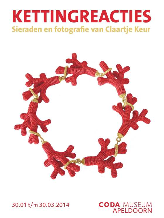 Felieke van der Leest, collectie Claartje Keur, poster, drukwerk, papier