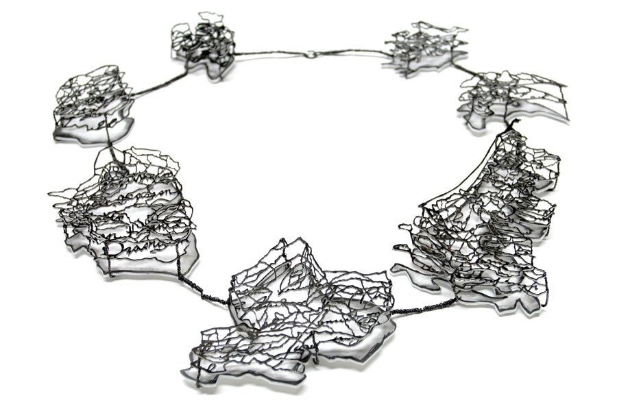 Francis Willemstijn, Necklace for Wilem van Oranje, CODA. Foto met dank aan Francis Willemstijn©