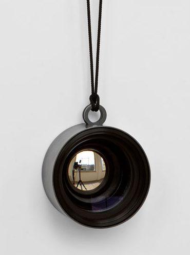 Jiro Kamata, halssieraad, lens, metaal, koord
