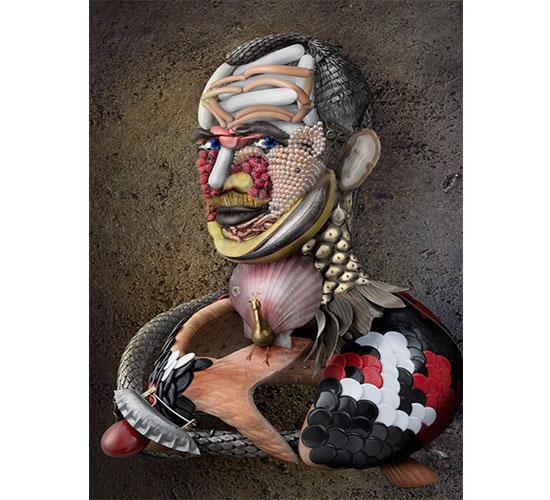 David Bielander, Demiurge, zelfportret, 2013