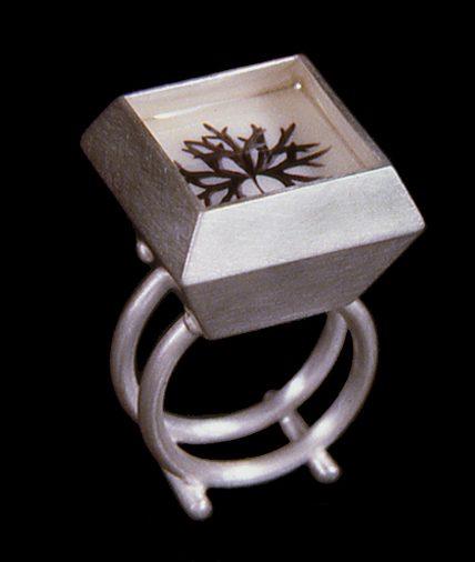 Susanne Klemm, Aconitum Anthora, ring, 2003. Foto met dank aan Susanne Klemm©