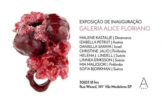 Openingstentoonstelling Galerie Alice Floriano. Foto met dank aan Galeria Alice Floriano©