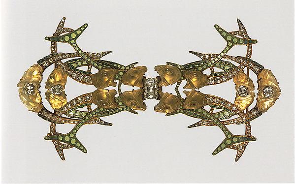 René Lalique, broche, circa 1905. Foto met dank aan het Metropolitan, publiek domein (CC0 1.0)