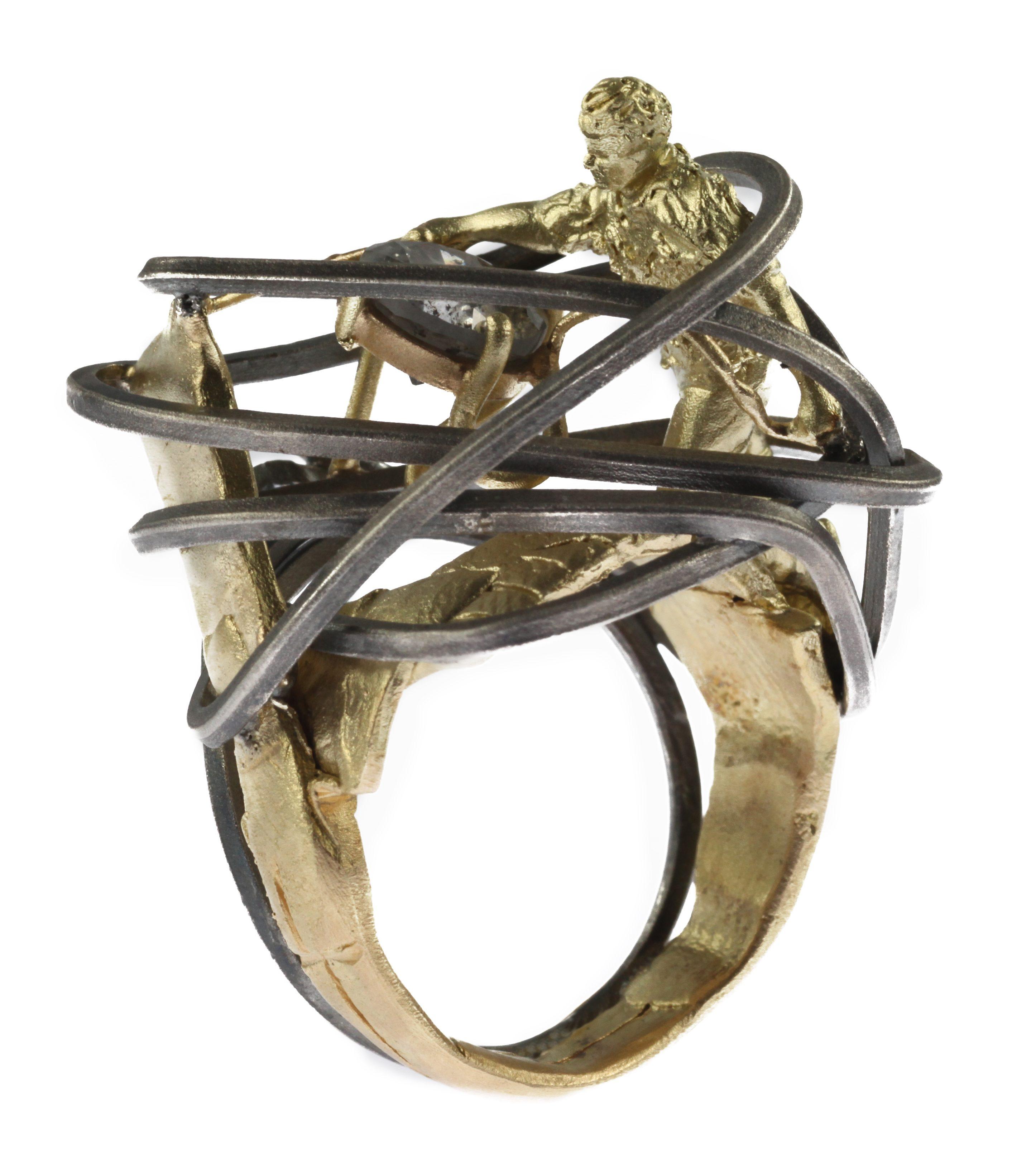 Robert Mazlo, Alchimia, ring. Foto met dank aan LA Joaillerie par Mazlo©