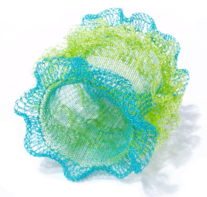 Arline Fisch, Turquoise Ruffle, armband