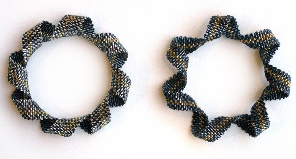 Hanne Behrens, armbanden, metaal