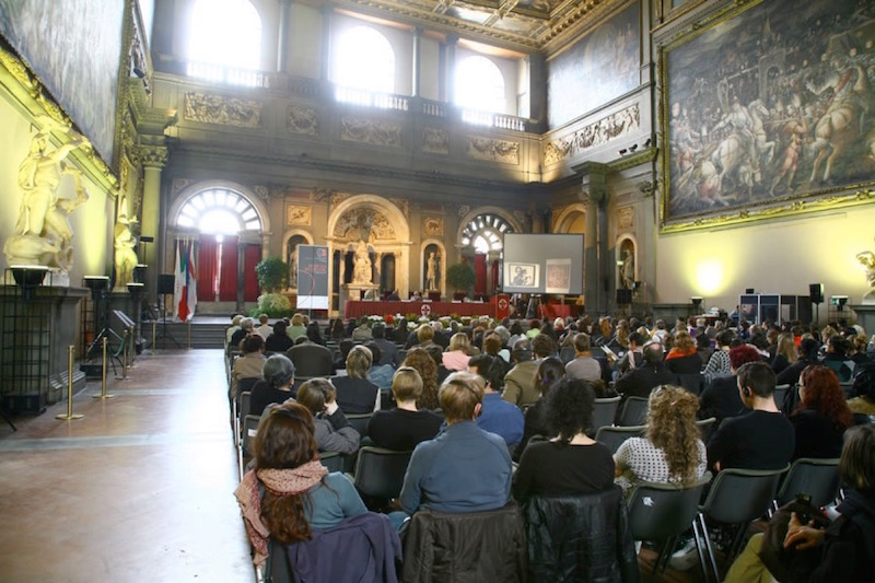 Symposium Siamo qui, Florence, 2008. Foto met dank aan Alchimia©