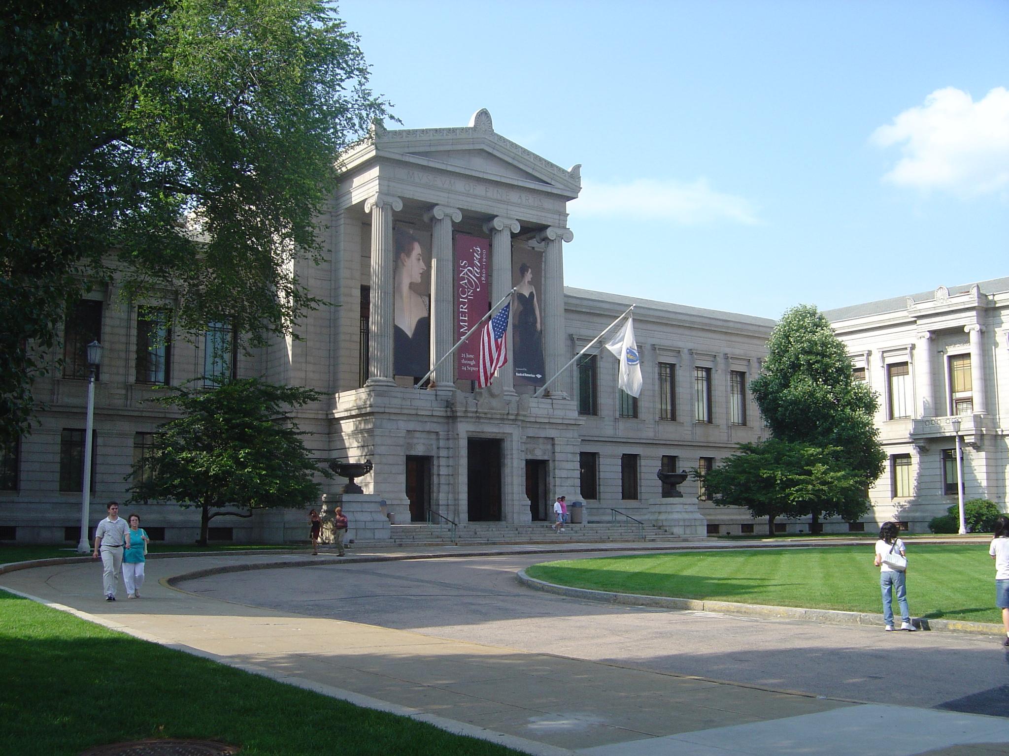 Museum of Fine Arts Boston, juli 2006. Foto met dank aan MamaGeek, CC BY-SA 3.0