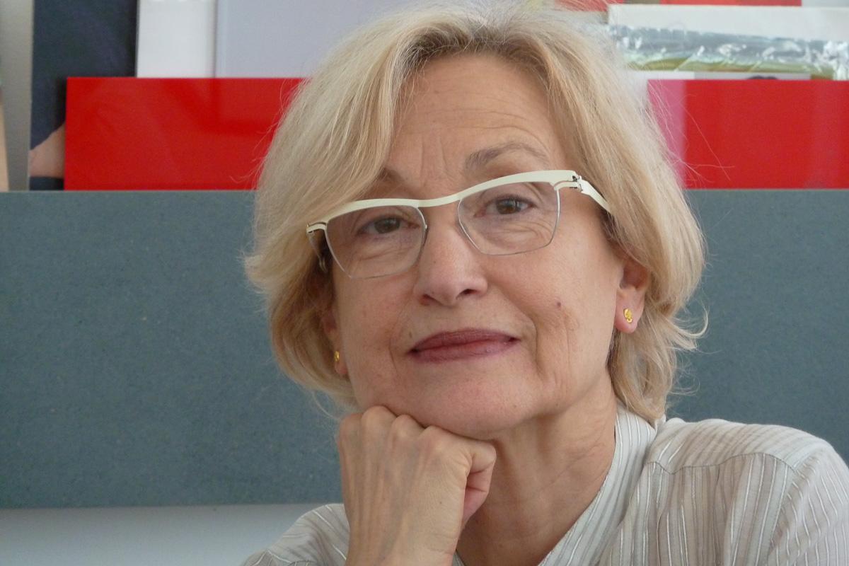 Paula Crespo, oprichter en eigenaar van Galeria Reverso. Foto met dank aan Galeria Reverso©