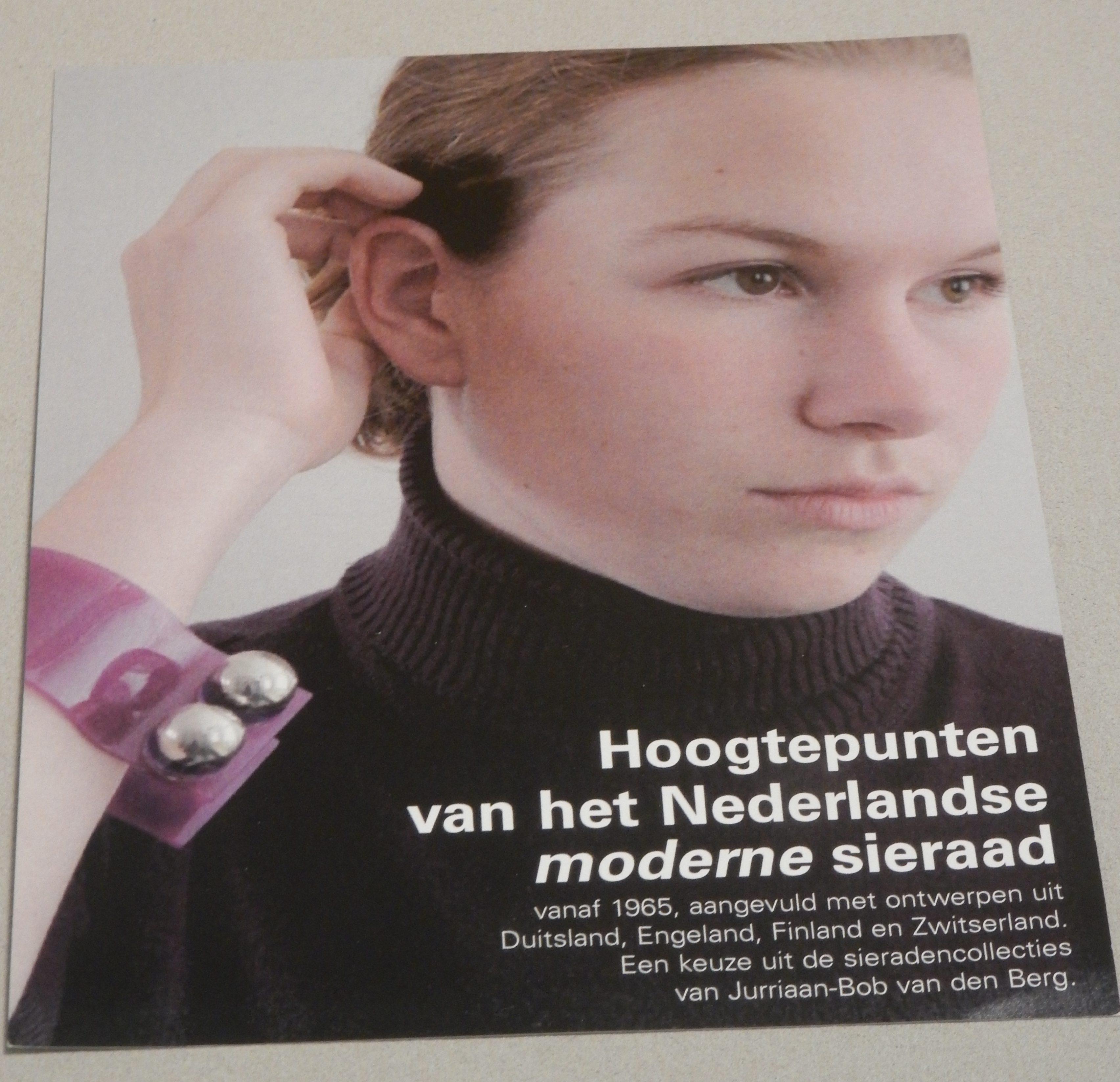 Flyer. De verzameling van Jurriaan van den Berg in CODA, 2018. Foto Esther Doornbusch, CC BY 4.0