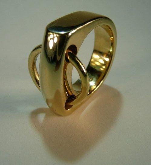Jan Scherjon, ring. Foto met dank aan Jan Scherjon©