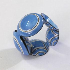 Beate Klockmann, ring. Ring Weimar, metaal