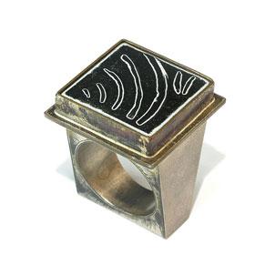 Rolf Lindner, ring. Ring Weimar, metaal