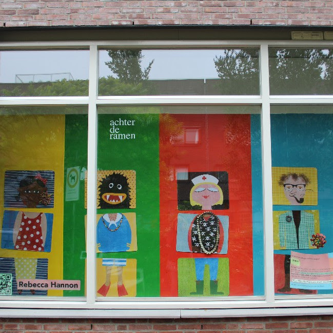 Achter de ramen, Rebecca Hannon, 2016. Foto met dank aan Stichting Françoise van den Bosch©
