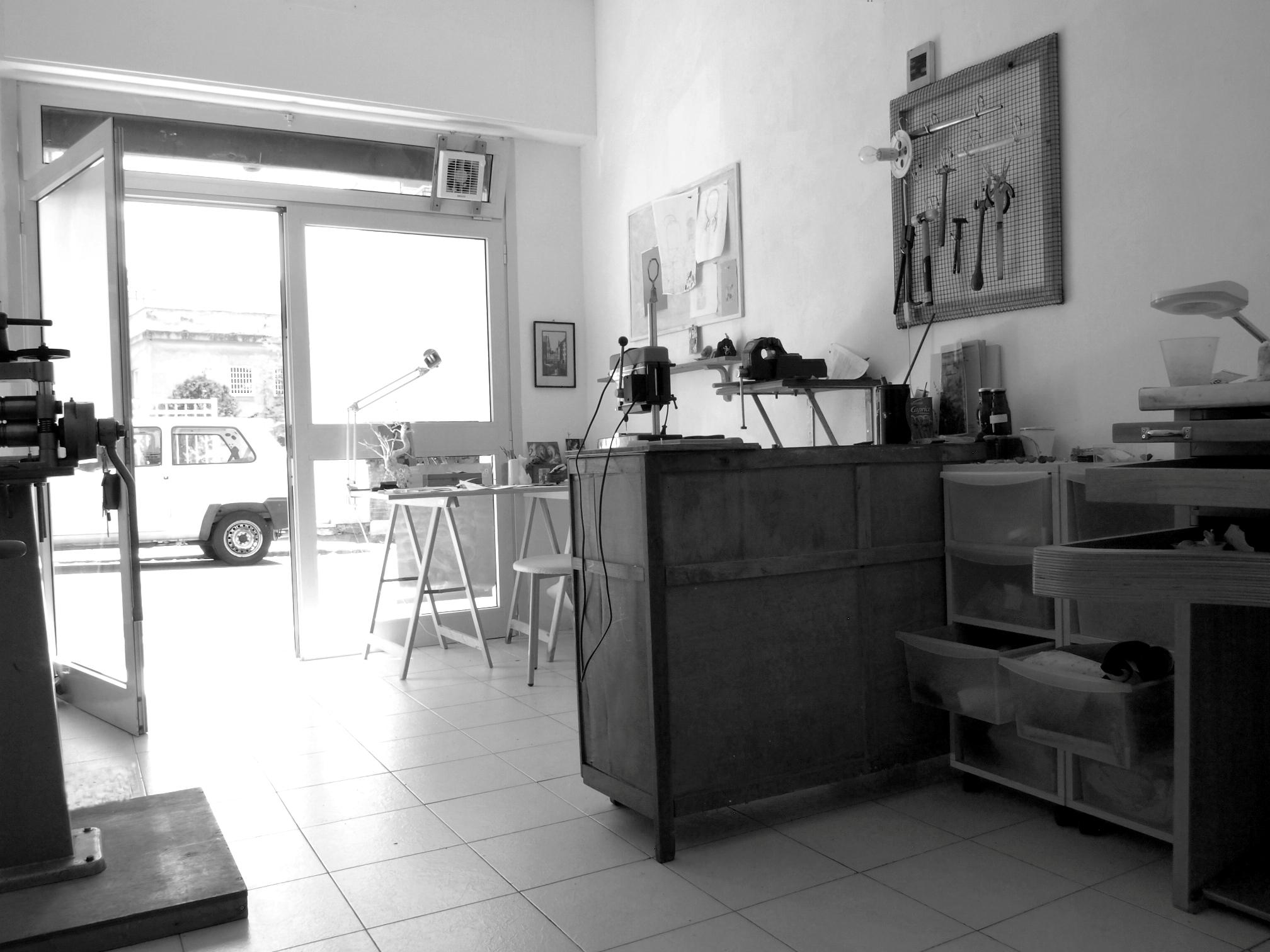 Atelier Francesca di Ciaula. Foto met dank aan Francesca di Ciaula©