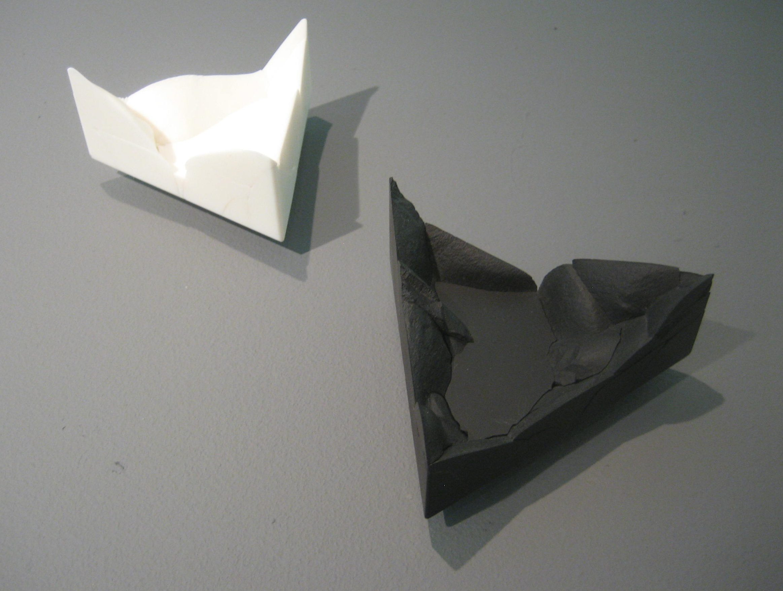 Patrícia Domingues, broches, metaal, gereconstrueerd steen