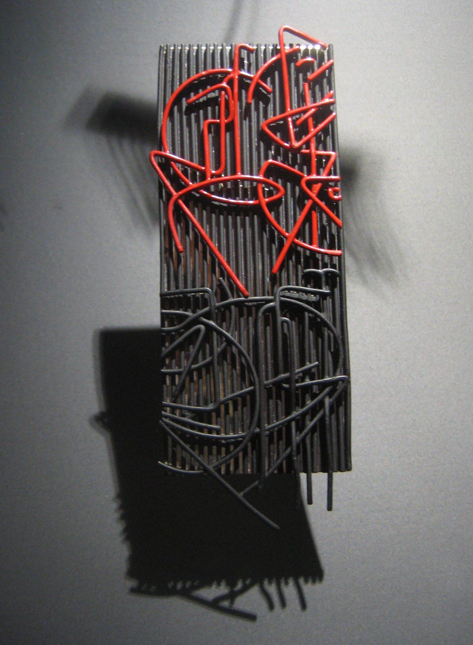 Jesús Rafael Soto, Baléares, hanger, 2004, 1/6. Collectie Diane Venet. Foto Esther Doornbusch, juni 2018©