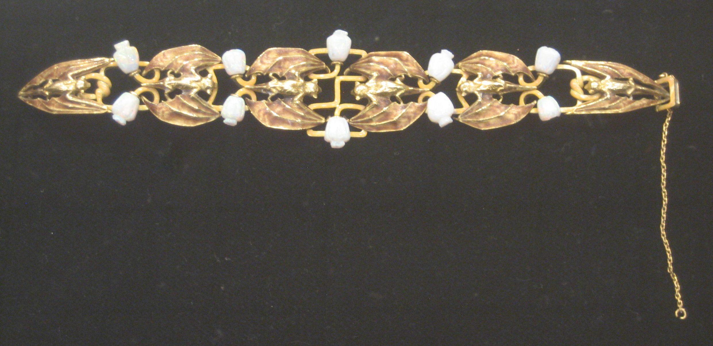 Philippe Wolfers, armband, metaal, opalen