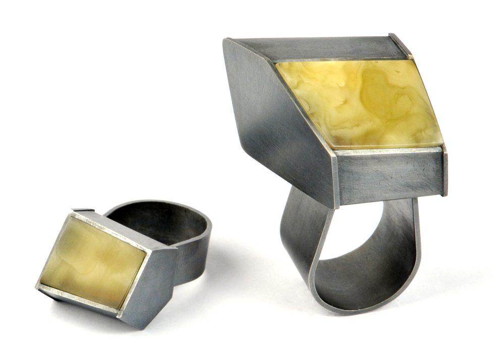 Heidemarie Herb, ringen, 2014, metaal