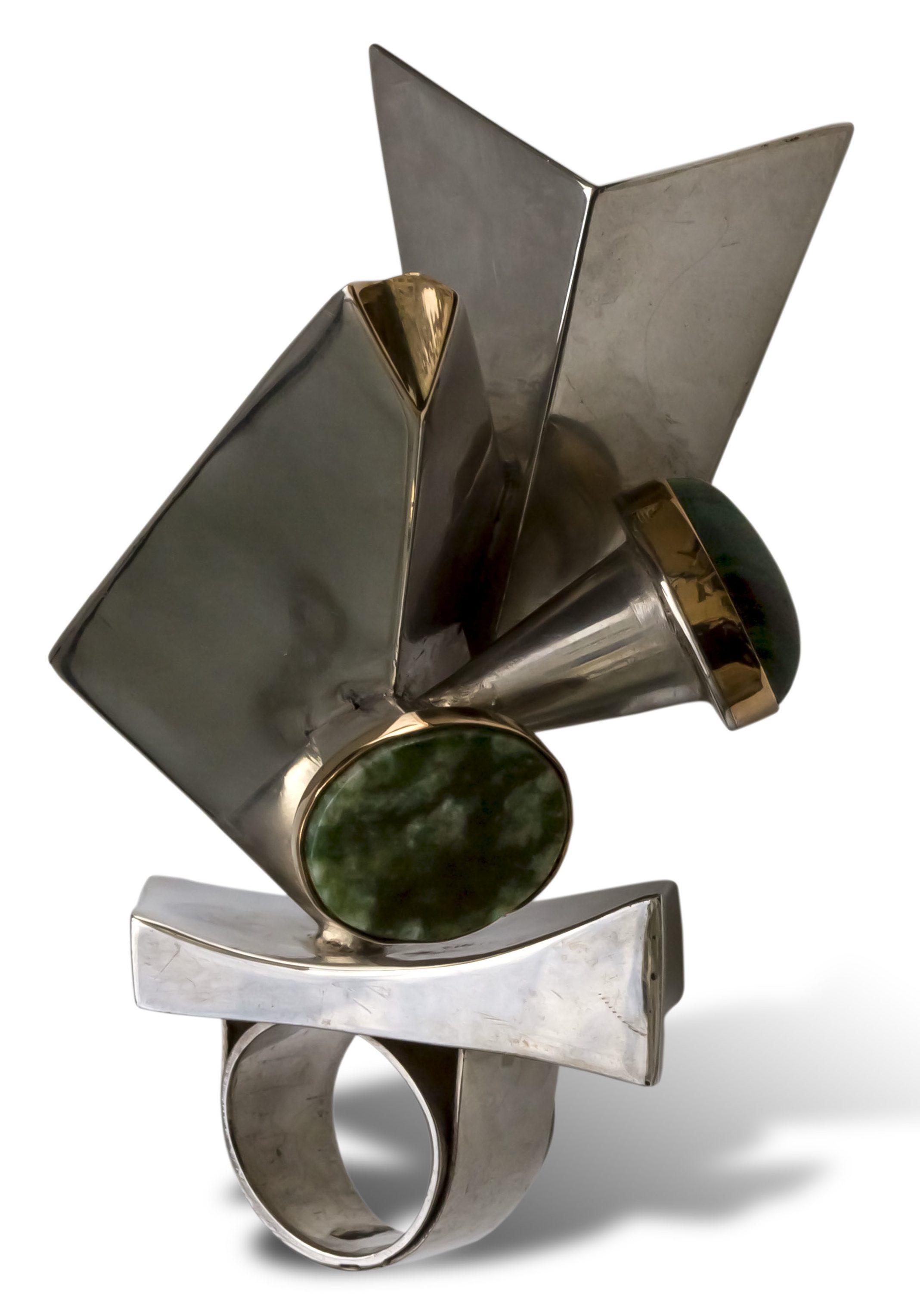Manette van Hamel, ring, 1970. Collectie Ida Boelen-van Gelder. Fotografie Aldo Smit©