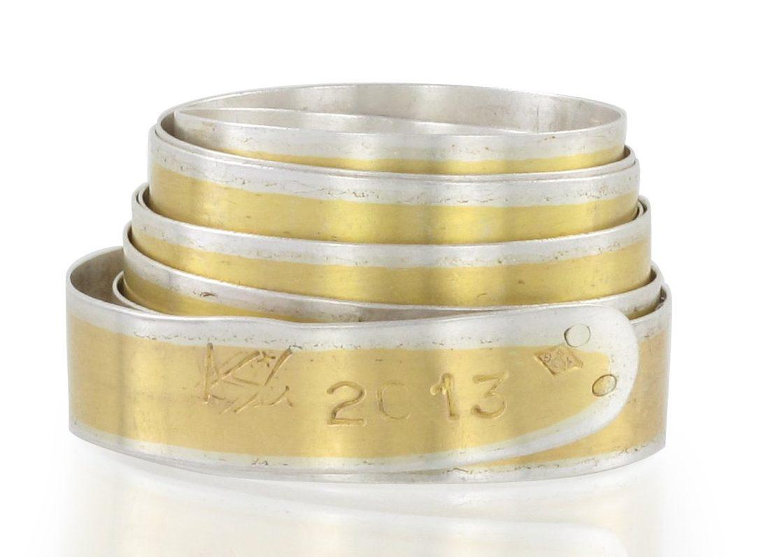 Agathe Saint Girons, ring. Foto met dank aan Galerie Elsa Vanier©