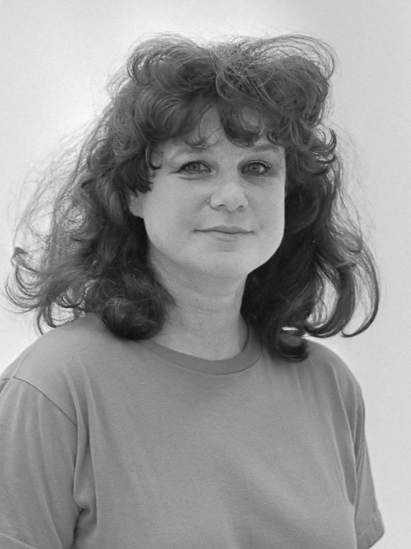 Jacqueline de Jong, 1982. Foto met dank aan Wikimedia Commons, Rob Bogaerts, CC BY-SA 3.0