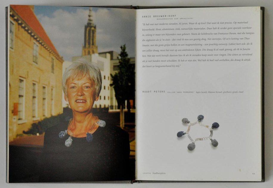 Sieraden, de keuze van Amersfoort, Annie Brouwer-Korf. Foto met dank aan Galerie Marzee©