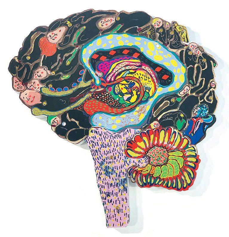 Coco Sung, Brain Activity. Foto met dank aan Four©