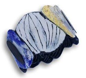 Silvia Walz, Blauer Garten, armband. Foto met dank aan Galerie Slavik©