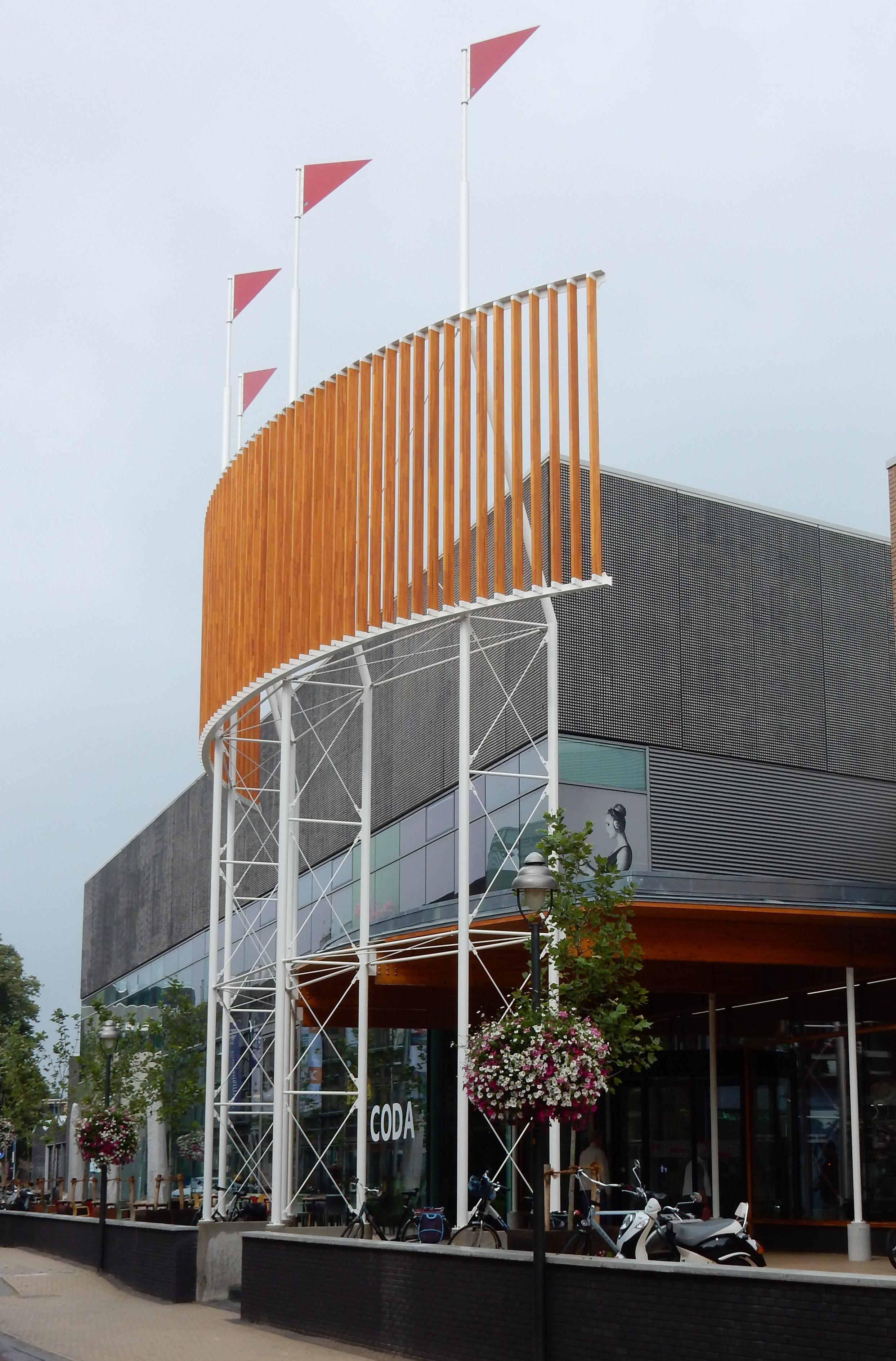 Vernieuwde entree CODA, 2019. Foto Esther Doornbusch 2019, CC BY 4.0