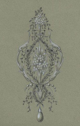 A. Bachruch, tekening. Foto met dank aan Grafische Sammlung Stern©