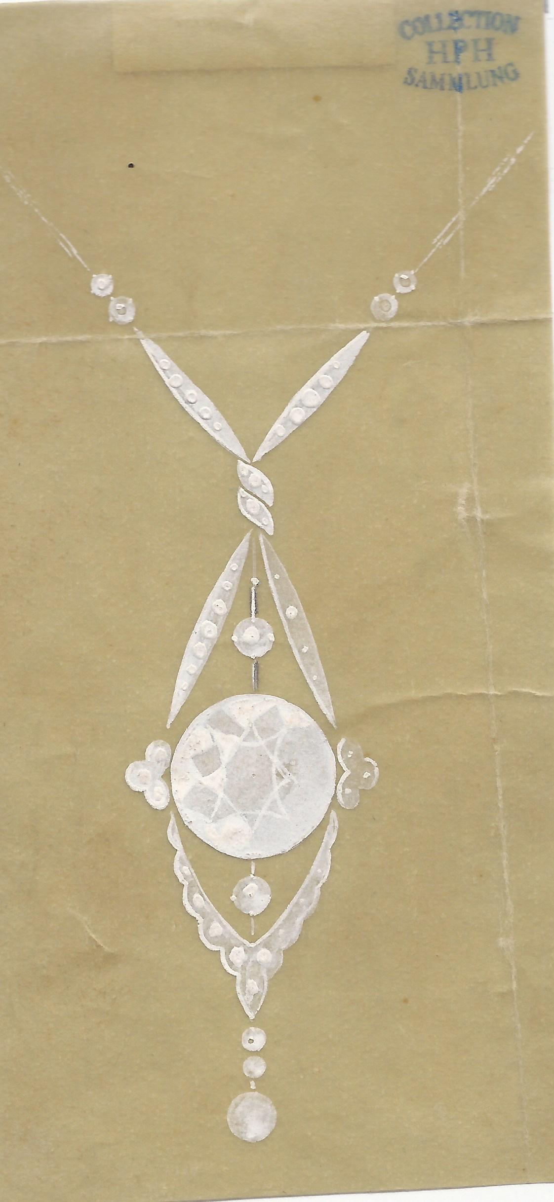 W.A. Bolin, tekening. Foto met dank aan Grafische Sammlung Stern©