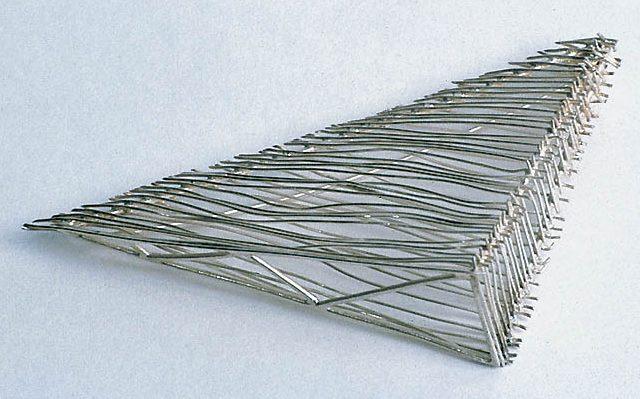Jürgen Eickhoff, broche, 1997, zilver