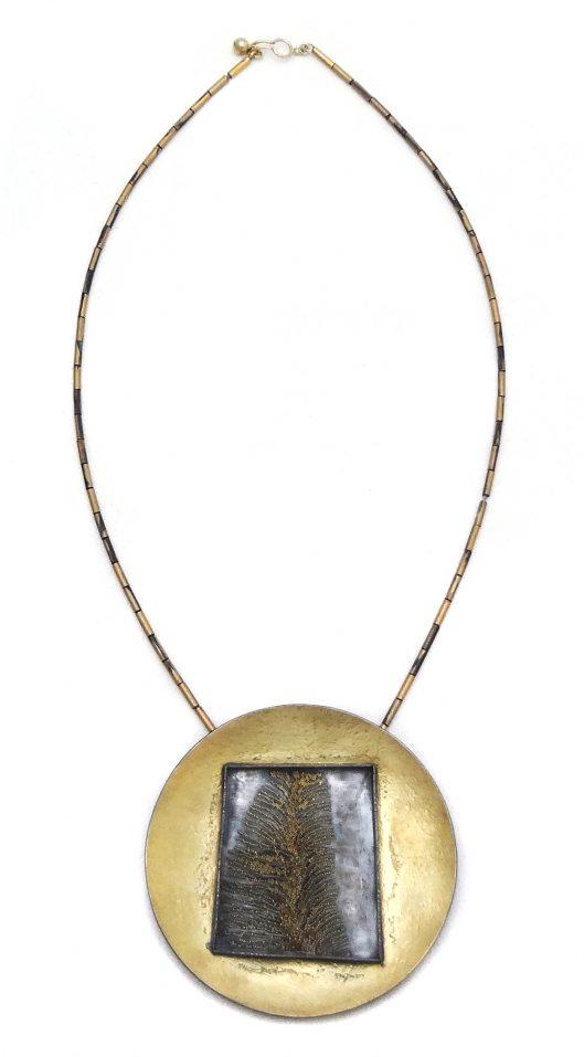 Harold O'Connor, halssieraad, goud, zilver, granulering