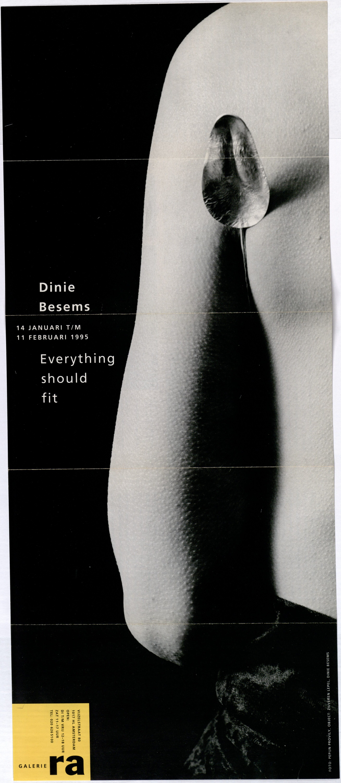 Ra Bulletin 87, januari/februari 1995, voorzijde met foto van Pepijn Provily met lepel van Dinie Besems, drukwerk, papier, zilver