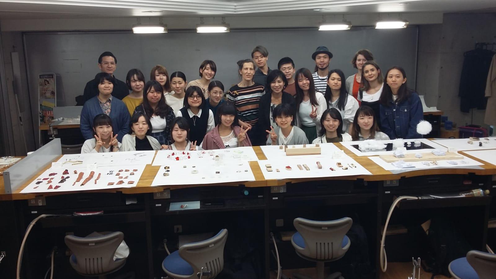 Hiko Mizuno College of Jewelry, Osaka, 2019. Foto Beppe Kessler, directeur Atsunori Murase