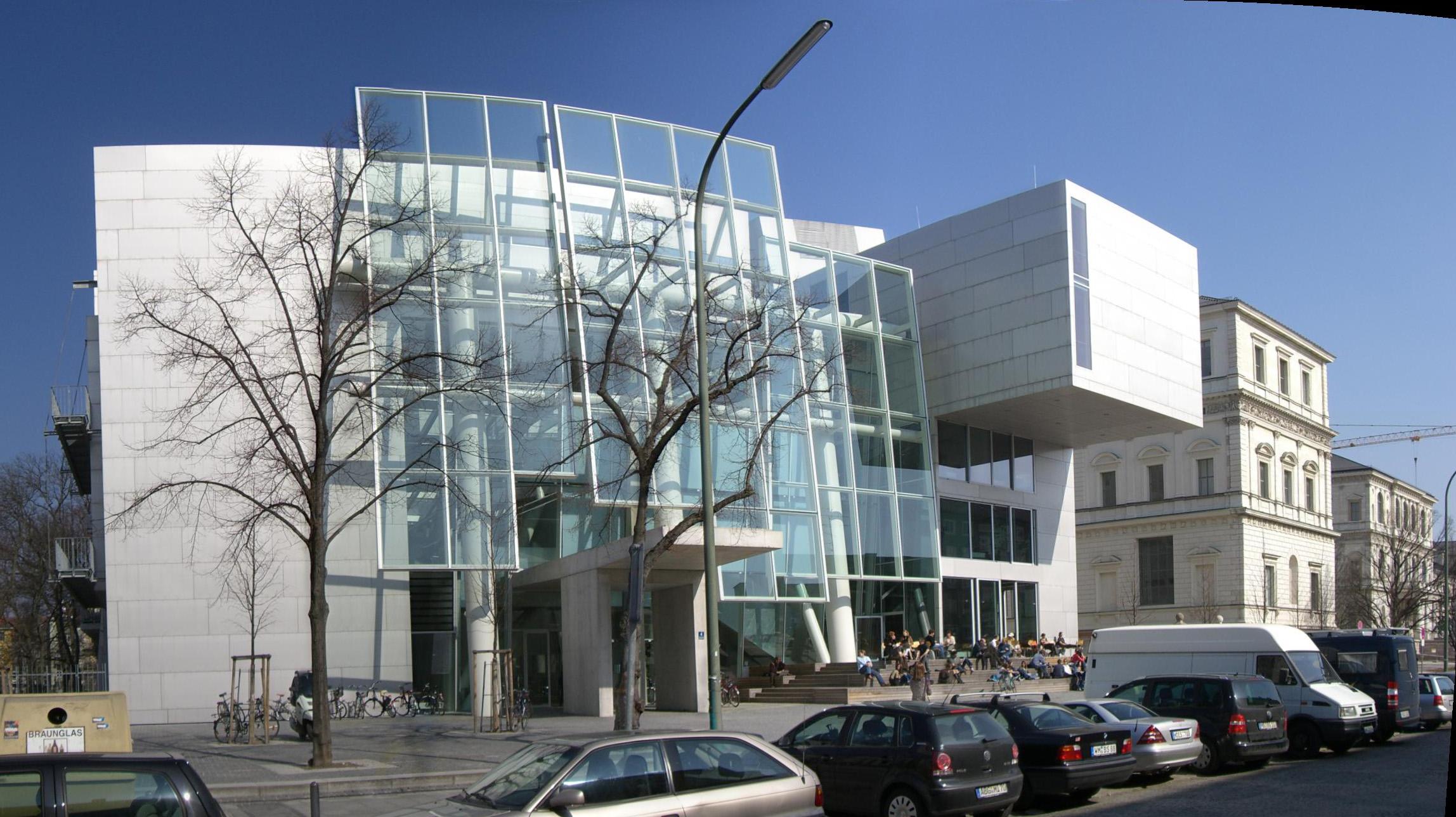 Akademie der Bildenden Künste, München, 2009. Foto Maximilian Dörrbecker, exterieur, gebouw, Coop Himmelblau