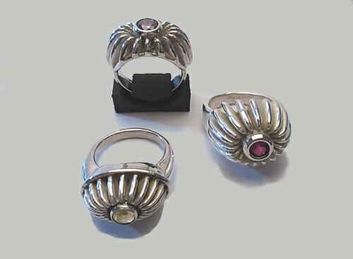 Ben Wisman, ringen, 2019, zilver, stenen