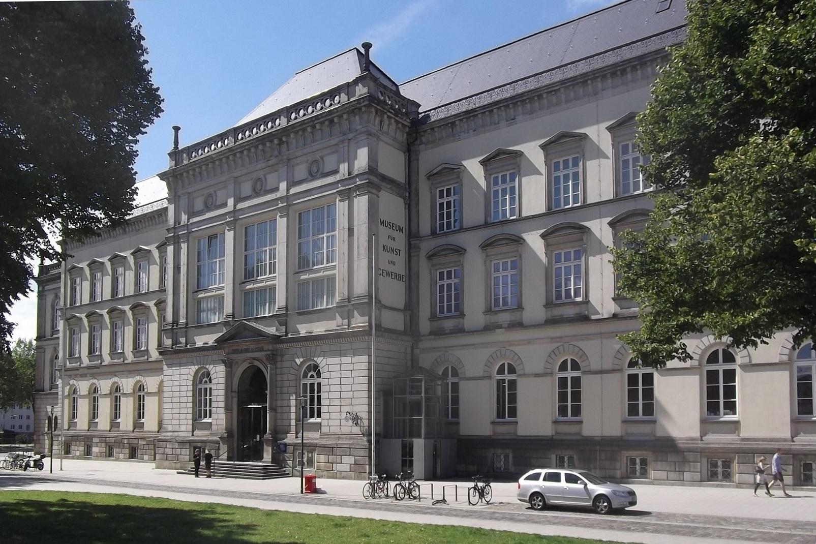 Museum für Kunst und Gewerbe Hamburg, 2015. Foto AltSylt, gebouw, exterieur