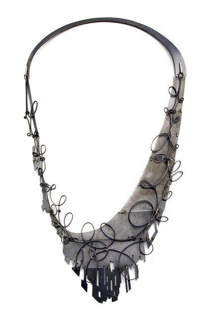 Sondra Sherman, AmericasTireChevrolet, halssieraad, 2016, staal, zilver
