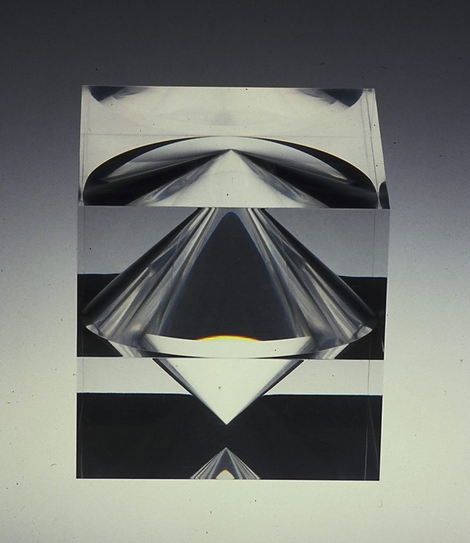 Lous Martin, object, 1980, acrylaat