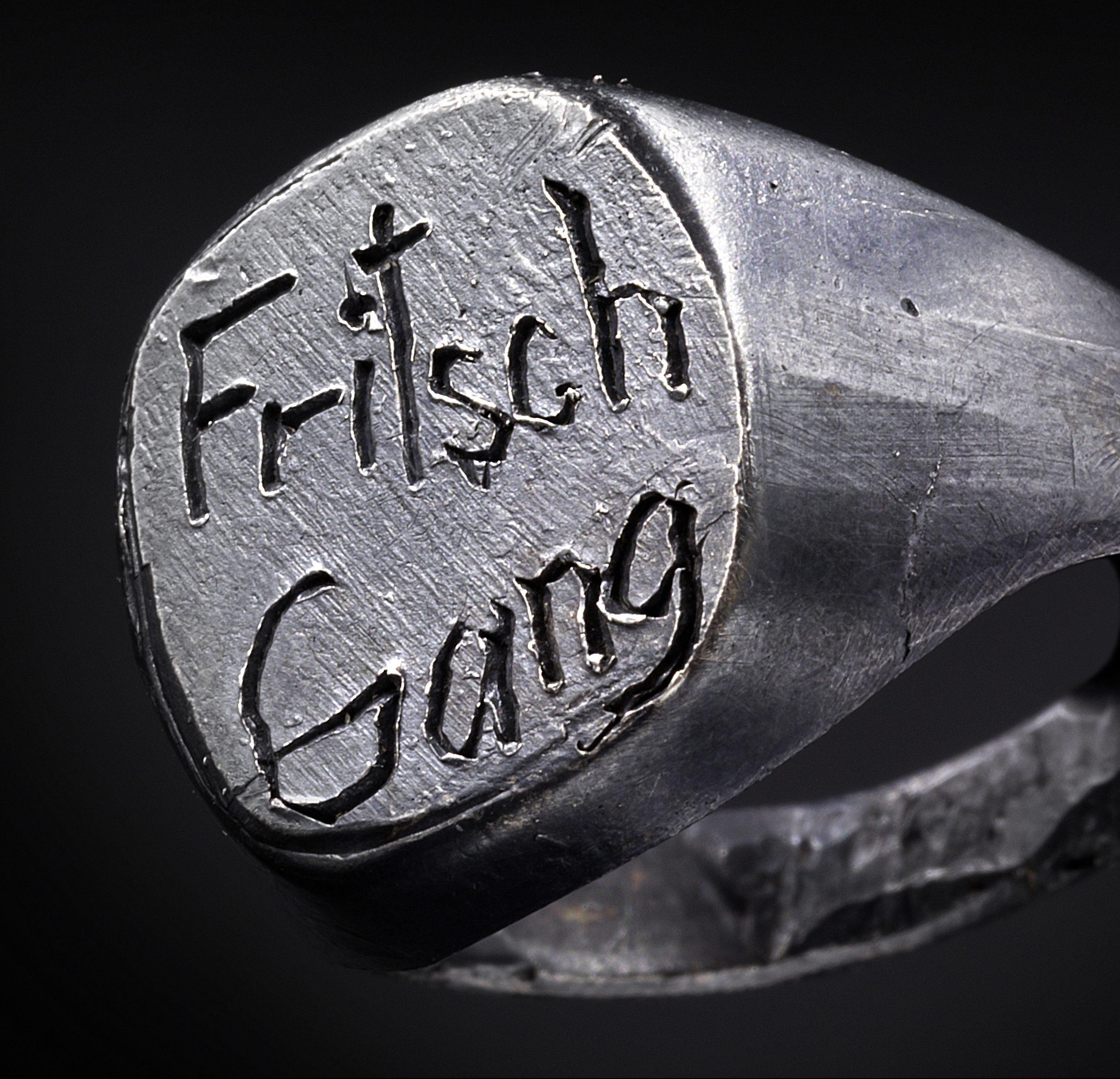 Karl Fritsch, ring, 2019. Foto Erich Spahn, zilver