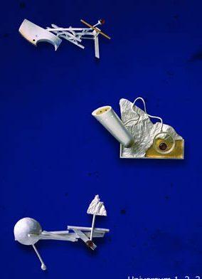 Karol Weisslechner, Universum, 1, 2 ,3, broches, 1998